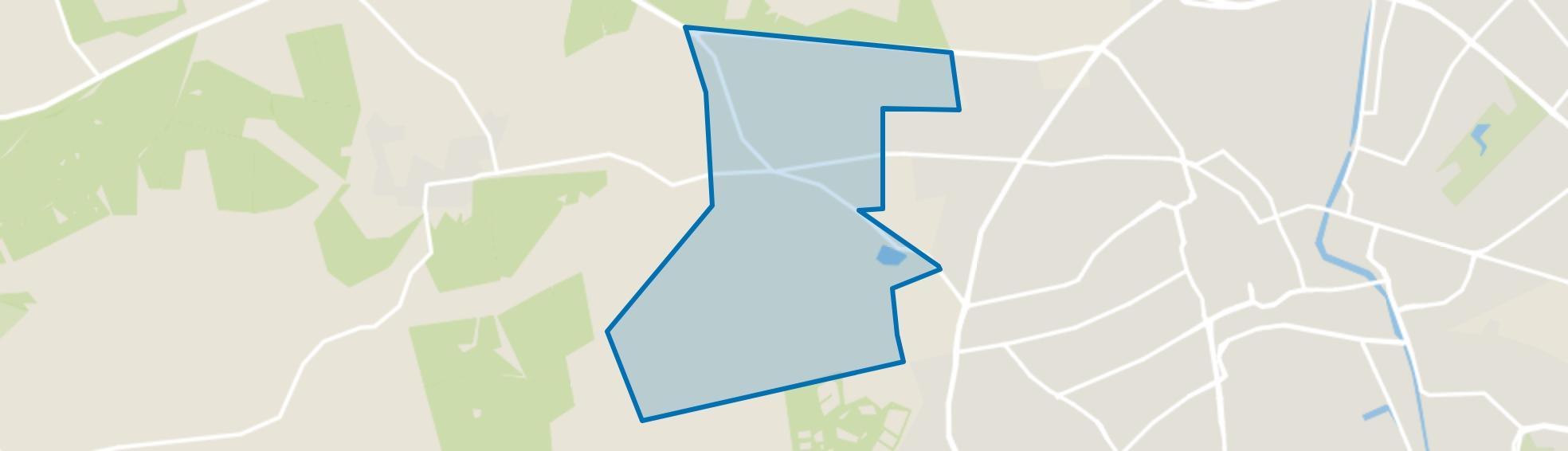 Park Berg en Bos, Apeldoorn map