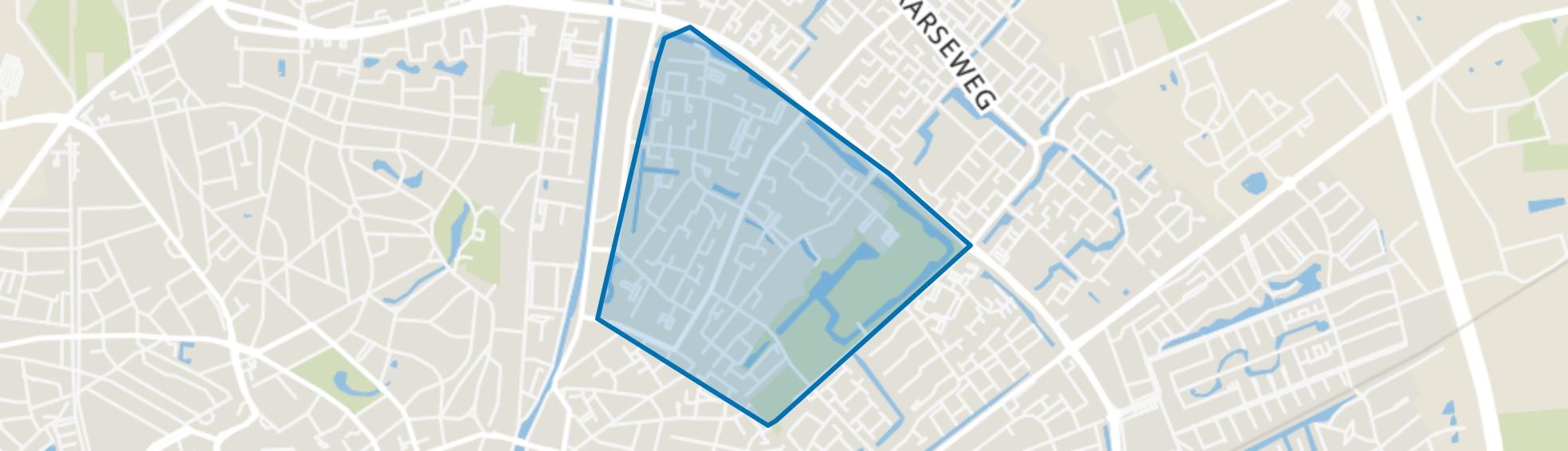 Sluisoord, Apeldoorn map