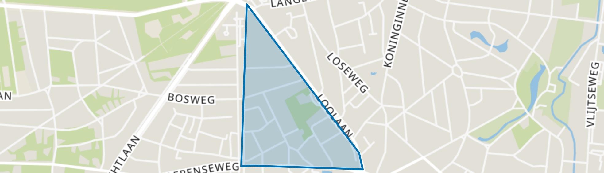 Spainkbos, Apeldoorn map