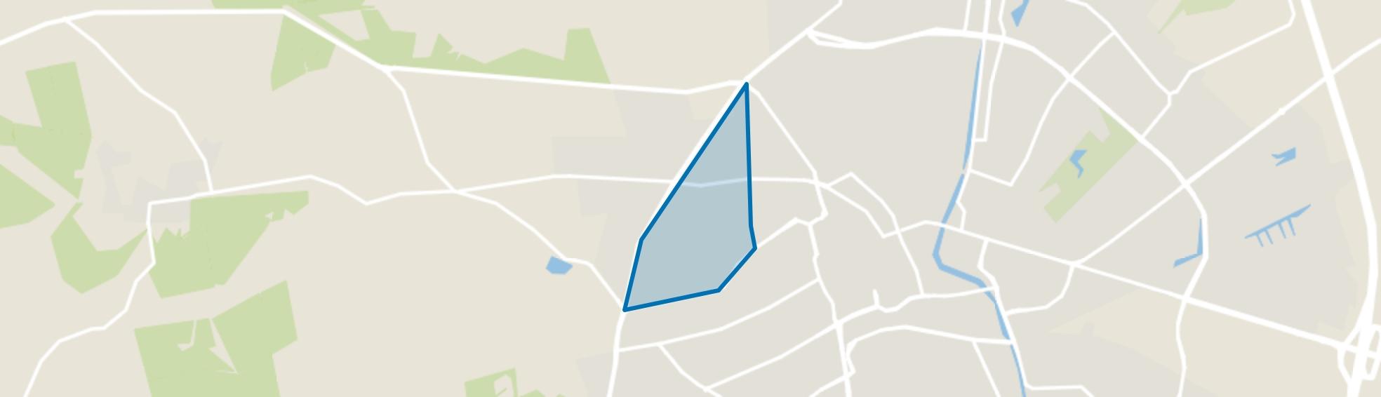 Sprengenbos, Apeldoorn map