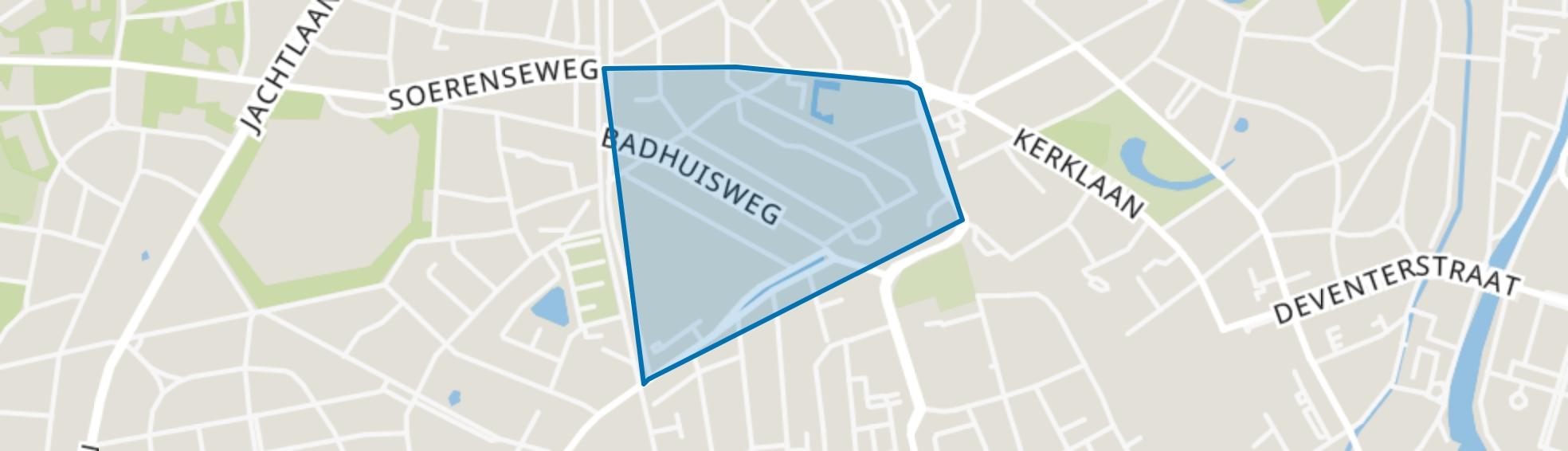 Sprengenweg-Noord, Apeldoorn map