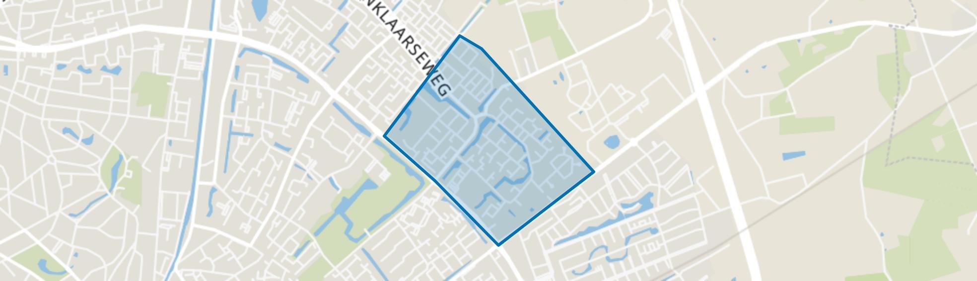 Sprenkelaar, Apeldoorn map