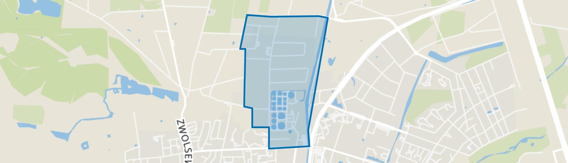 Stadhoudersmolen, Apeldoorn map