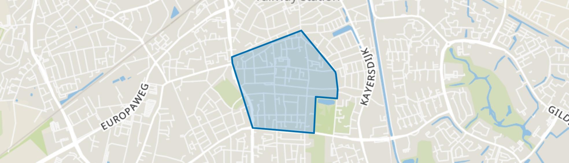 Vogelkwartier, Apeldoorn map