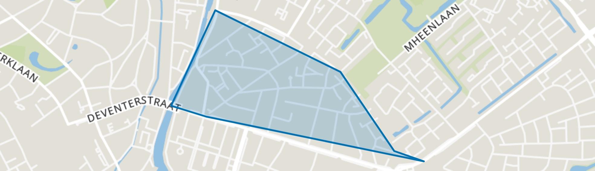 Zevenhuizen, Apeldoorn map