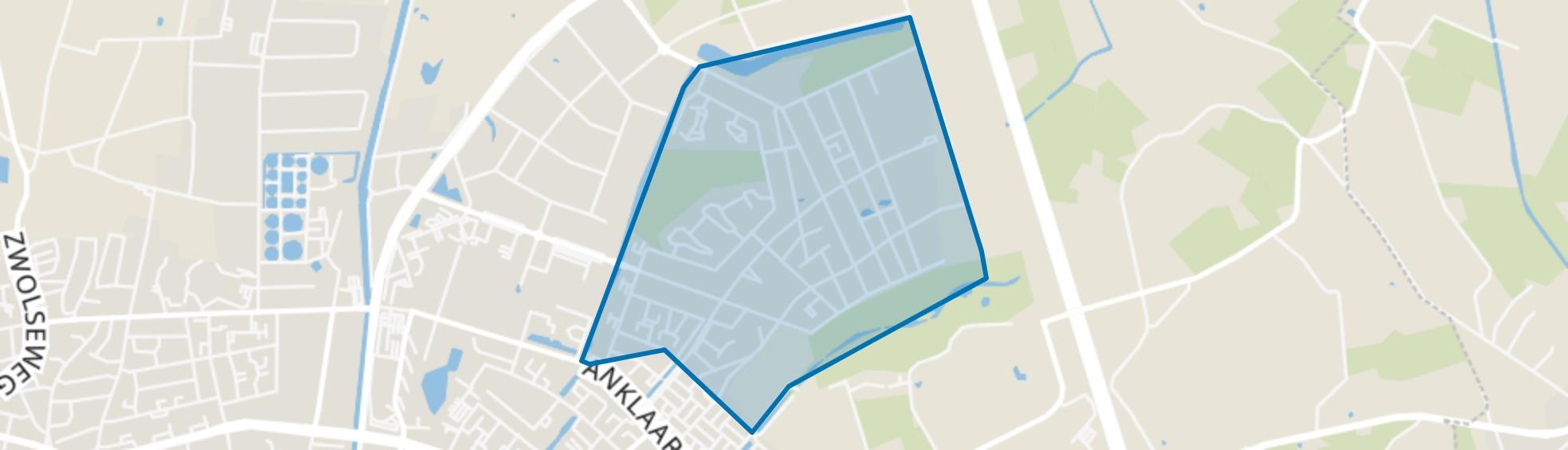 Zuidbroek - Mozaïek & Rooster, Apeldoorn map