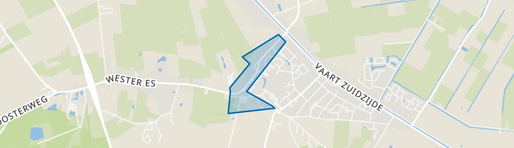 Appelscha-Bruggelaan, Appelscha map