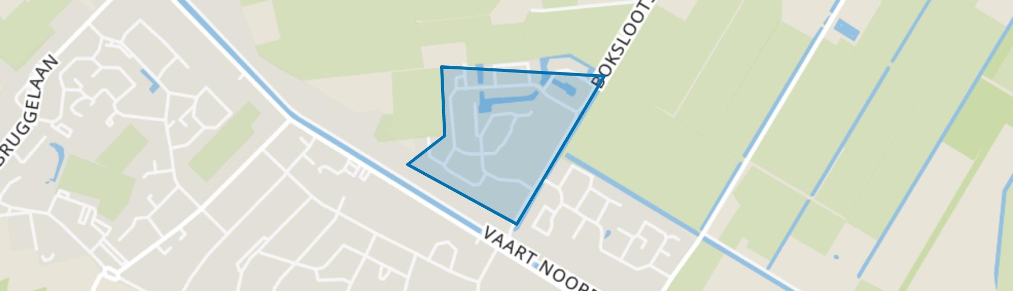 Appelscha-Noord, Appelscha map