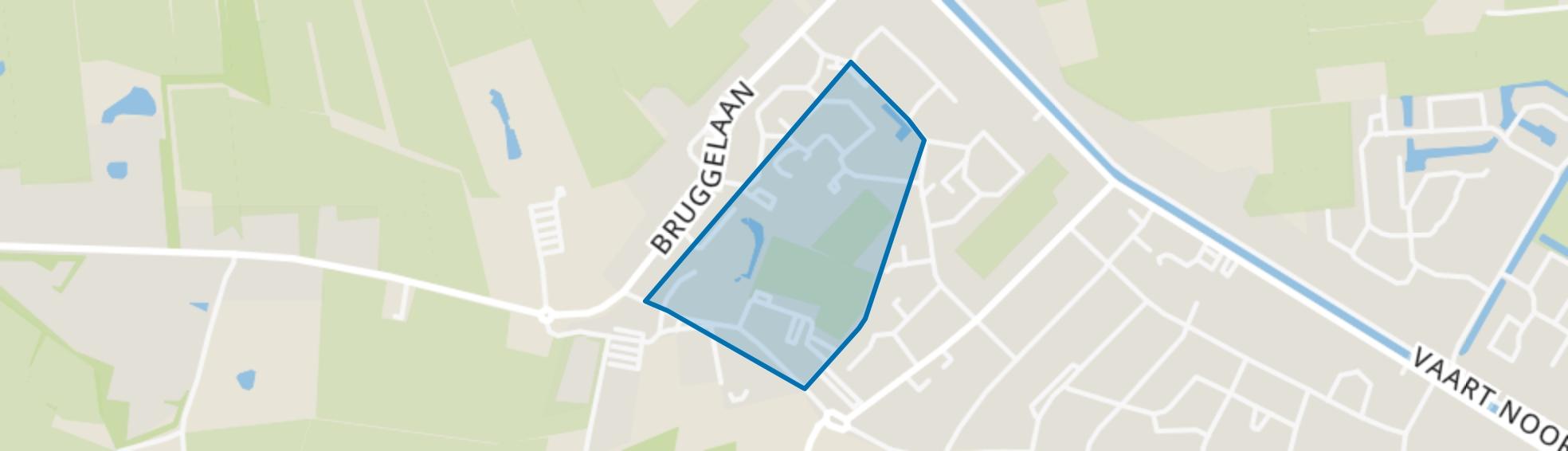 Appelscha-Steegdenhal, Appelscha map