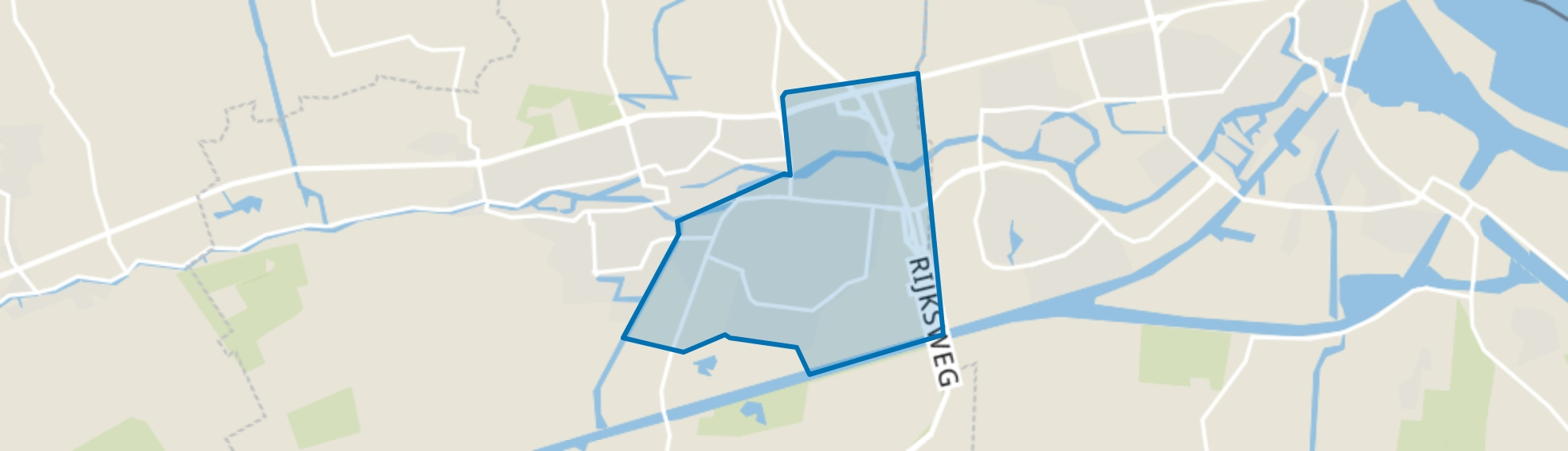 Appingedam-Oost, Appingedam map