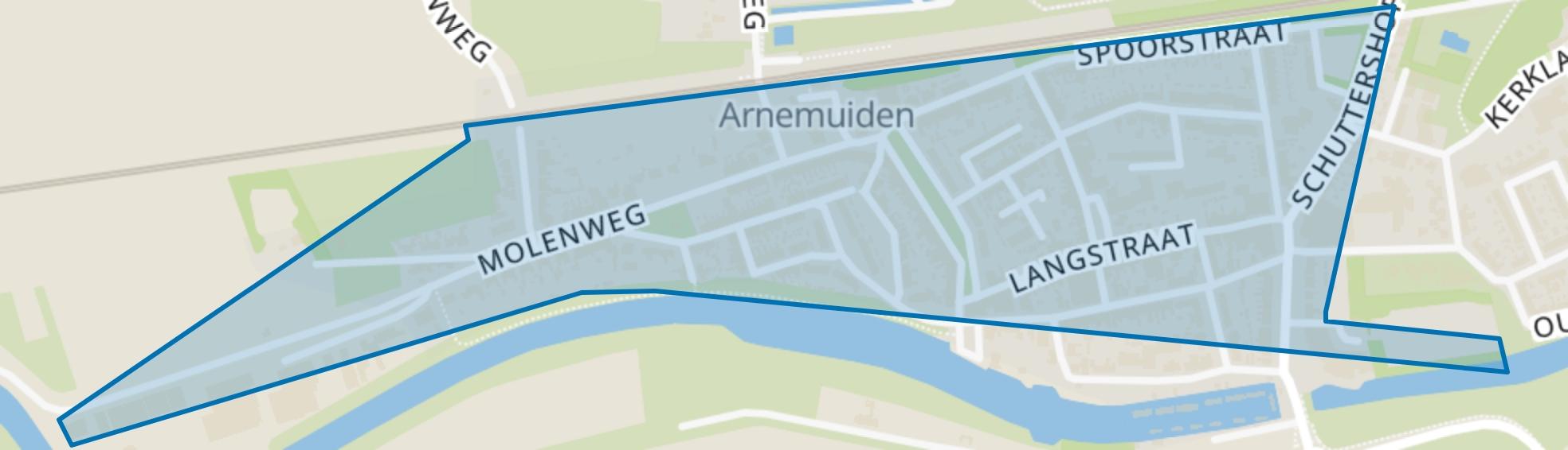 Dorp, Arnemuiden map