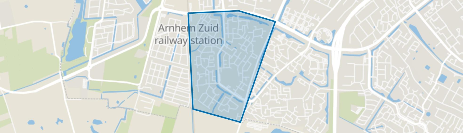 De Laar-West, Arnhem map