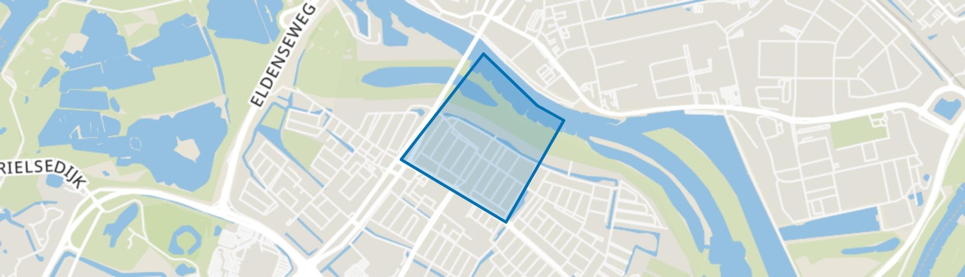 Groene Weide, Arnhem map