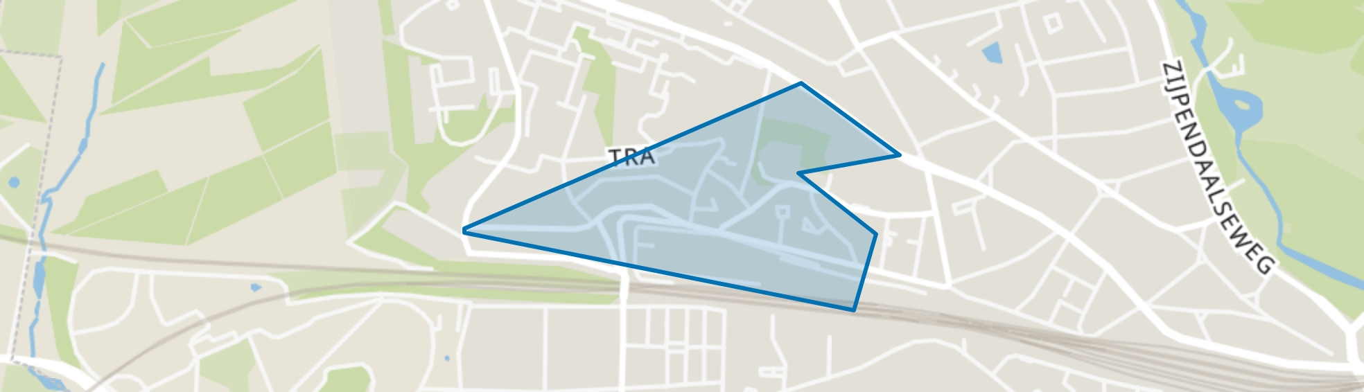 Heijenoord, Arnhem map