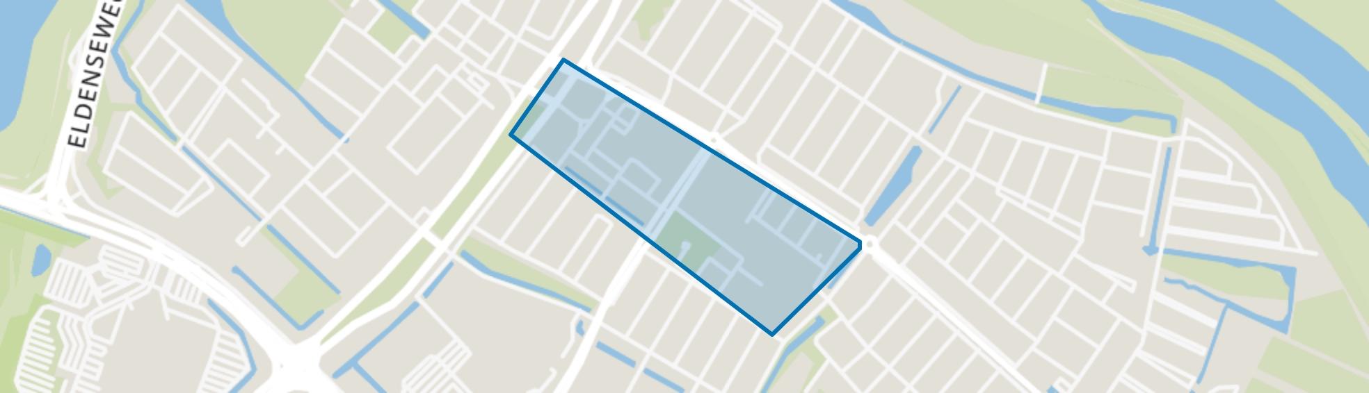 Middelgraaflaan e.o., Arnhem map