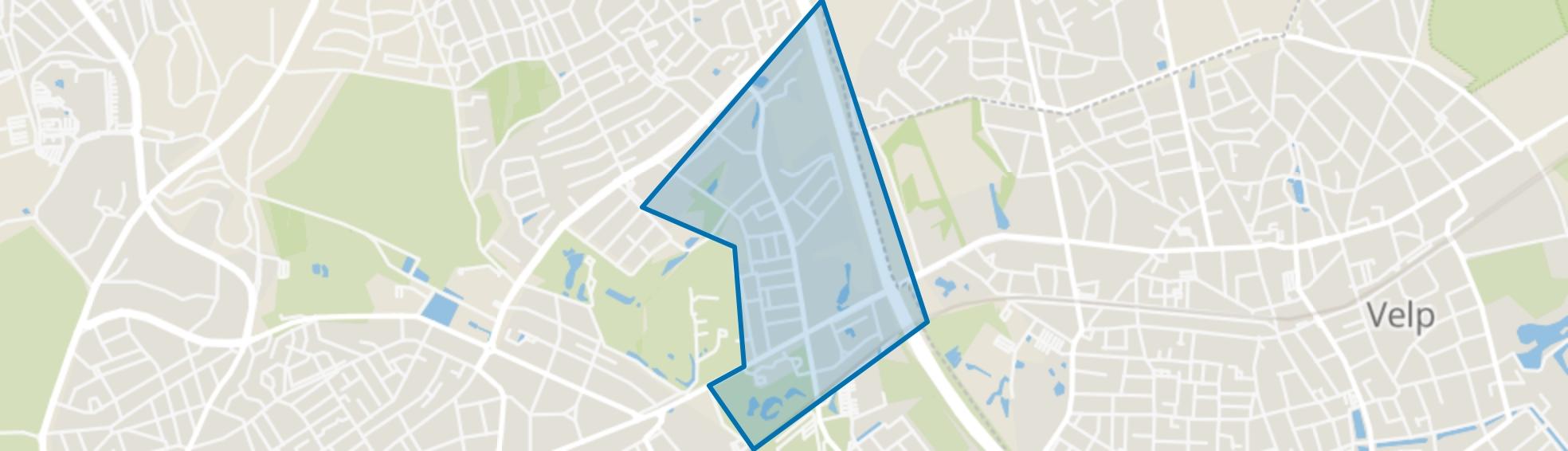 Paasberg, Arnhem map