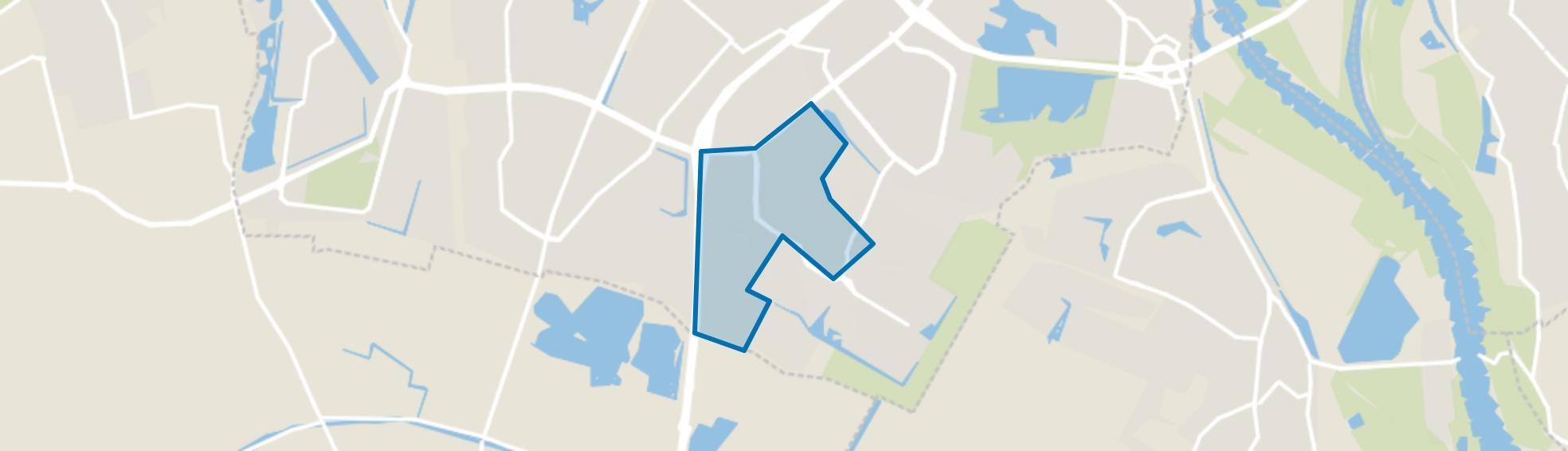 Rijkerswoerd-West, Arnhem map