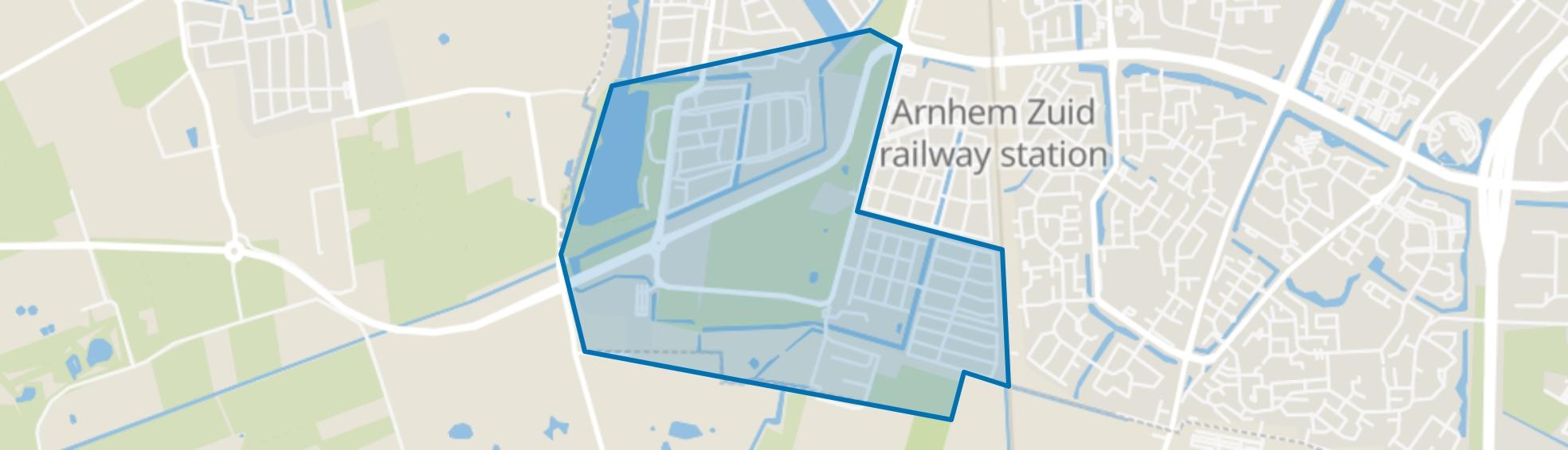 Schuytgraaf-Zuid, Arnhem map