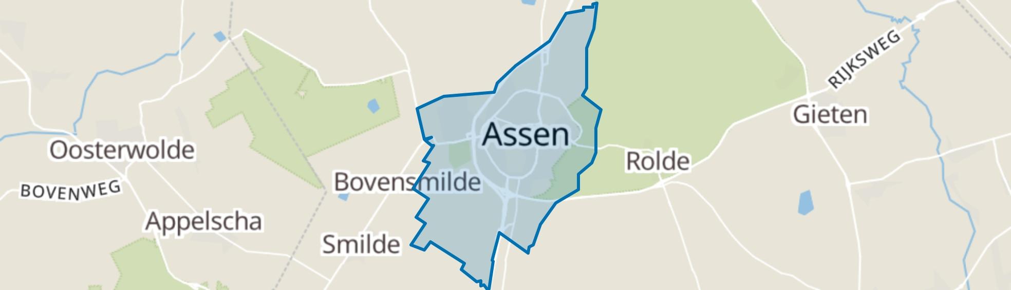 Assen map