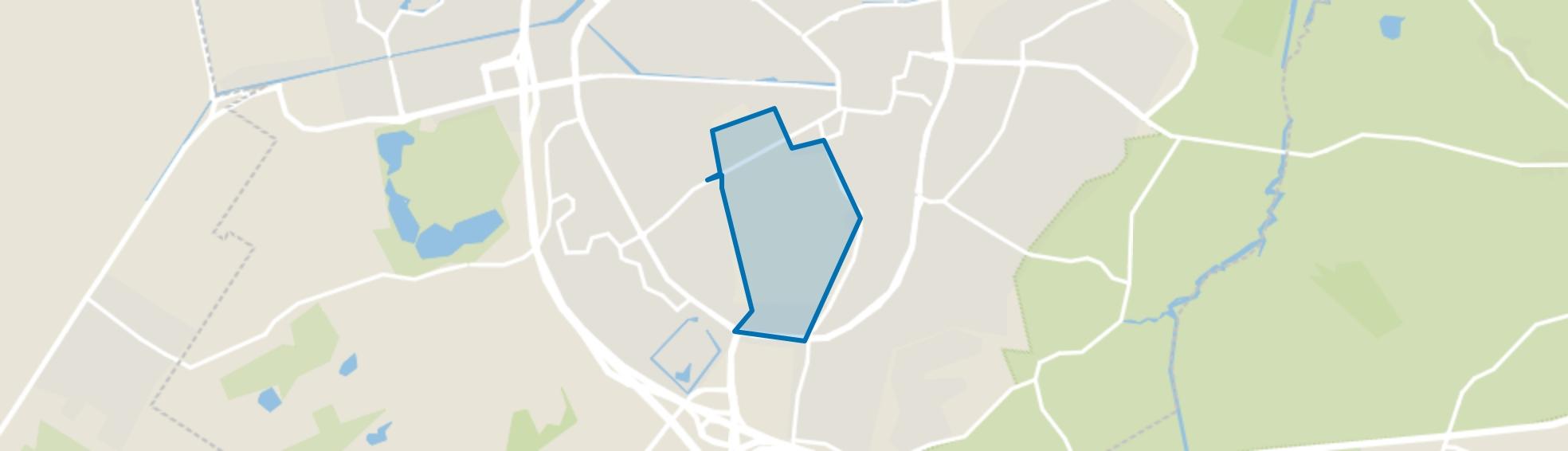 Asserbos, Assen map