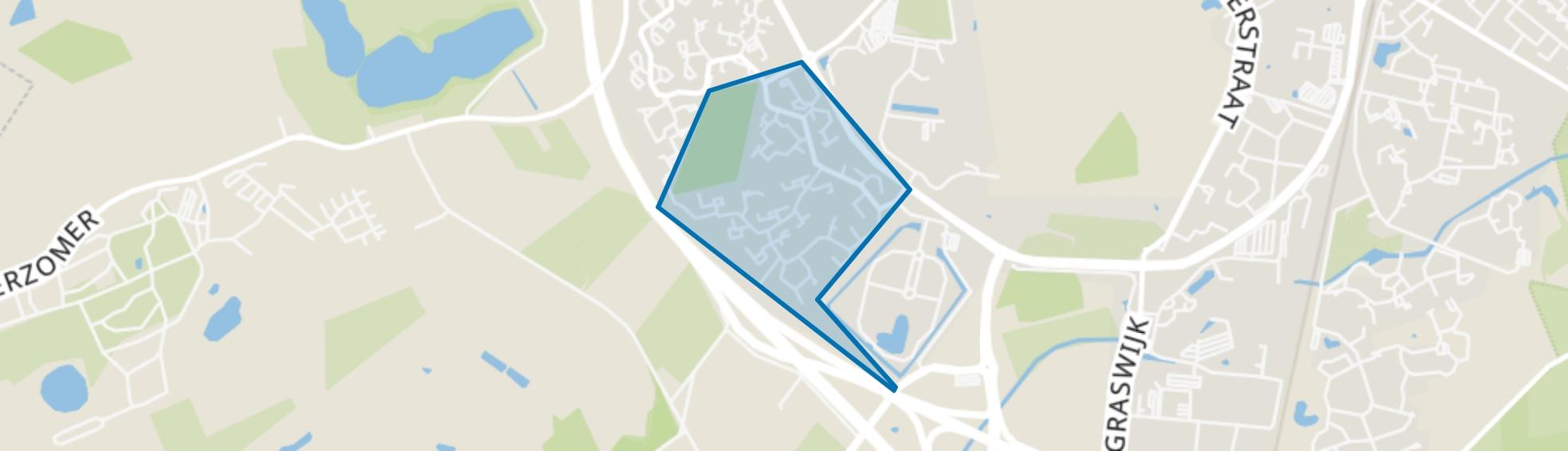 Baggelhuizen Zuid, Assen map