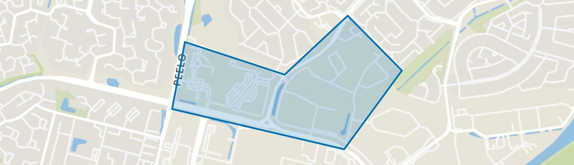 Bedrijventerrein Marsdijk West, Assen map