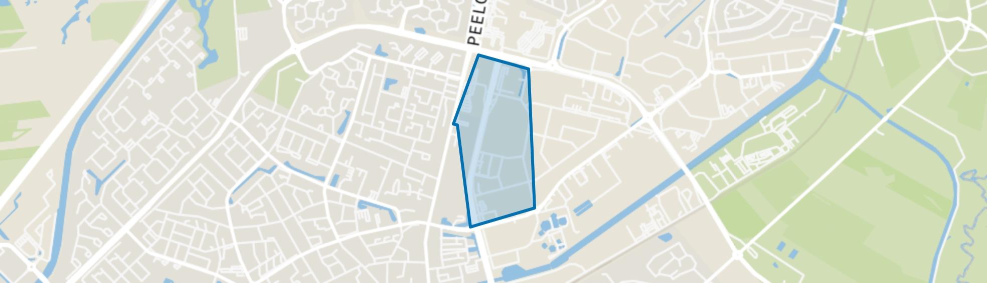 Bedrijventerrein West, Assen map