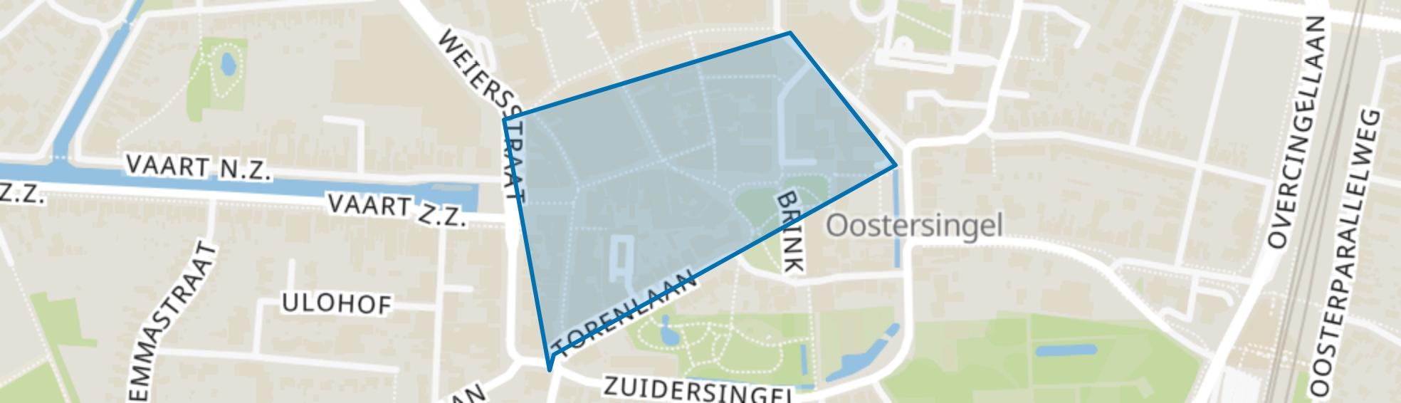 Brinkkwartier, Assen map
