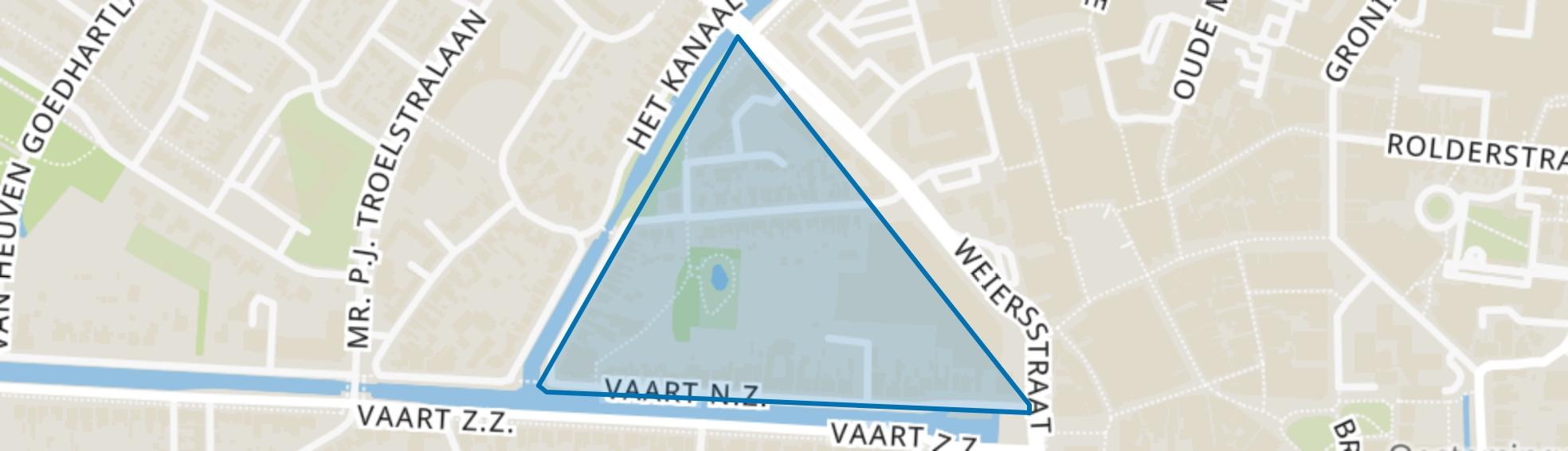Cultuureelkwartier, Assen map