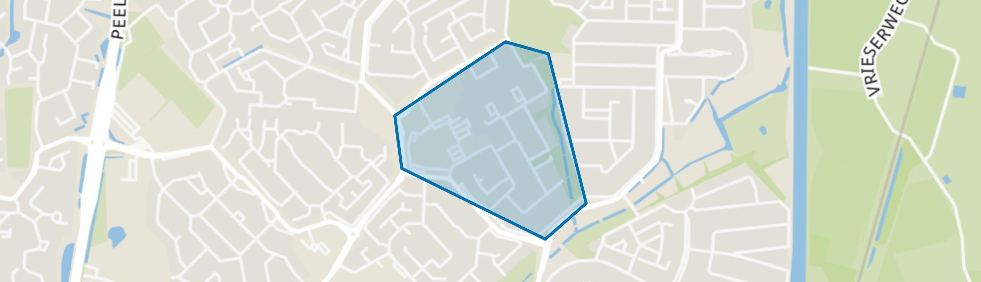 De Beemden, Assen map