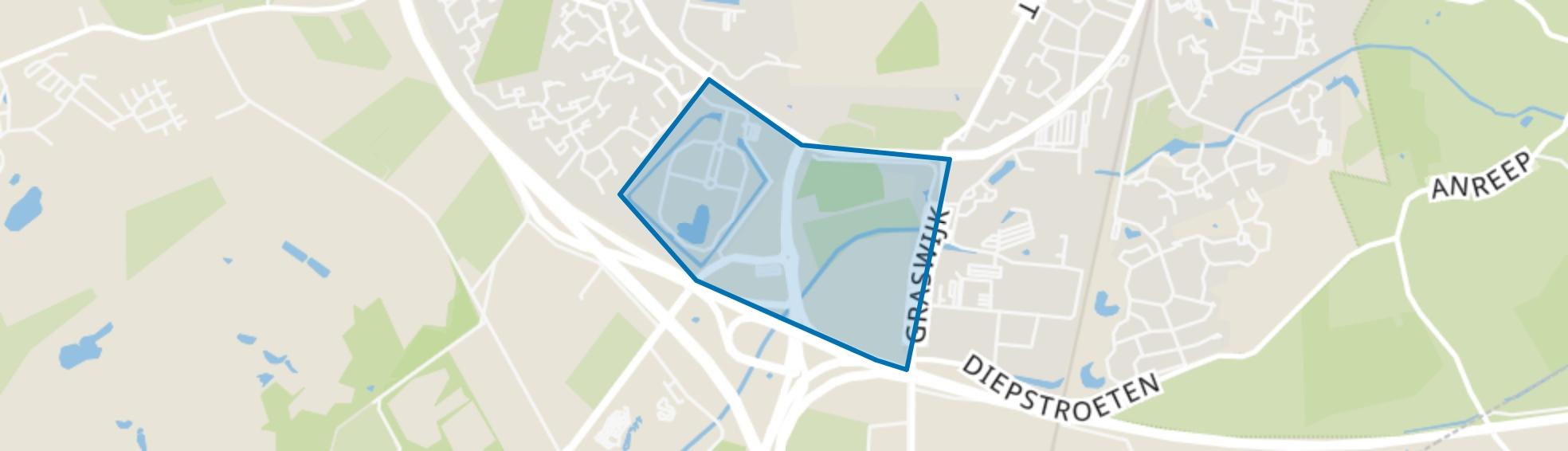 De Boskamp, Assen map