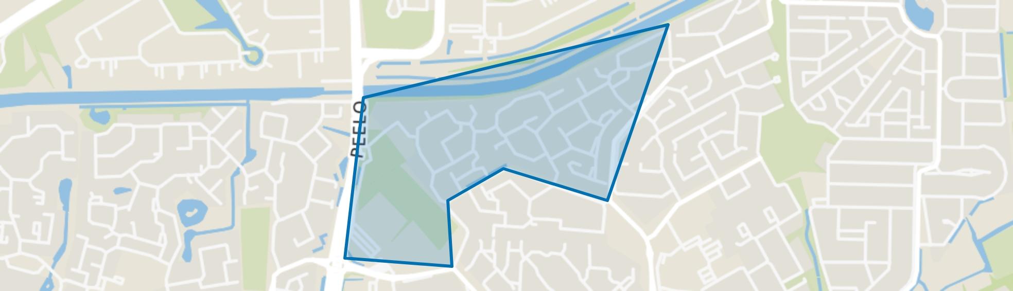 De Breeën, Assen map