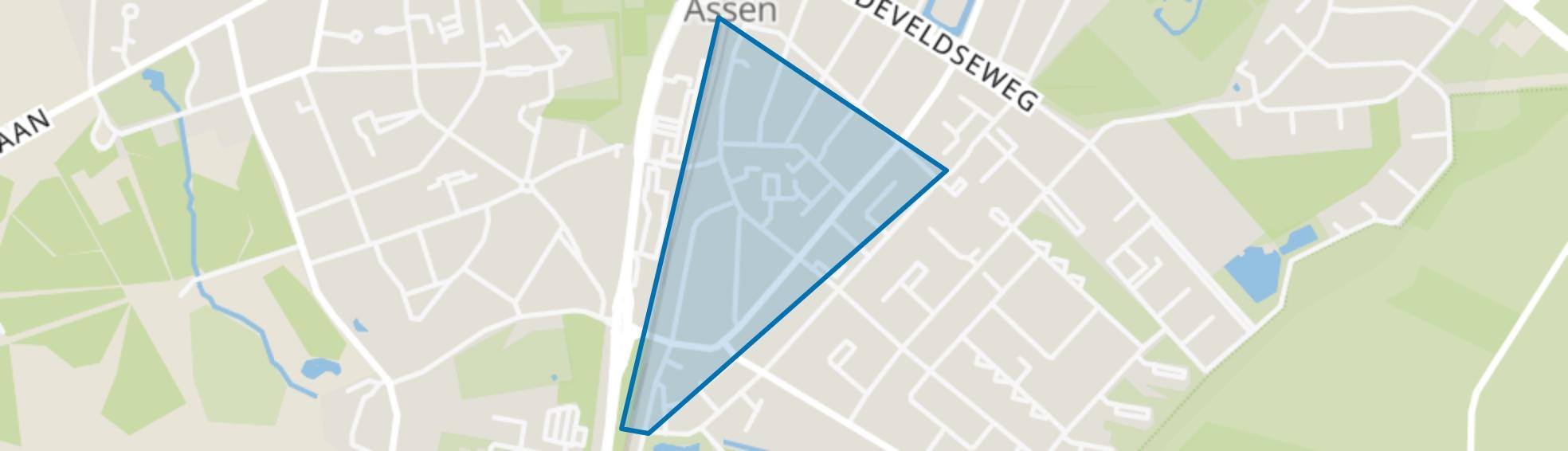 De Dorpen, Assen map