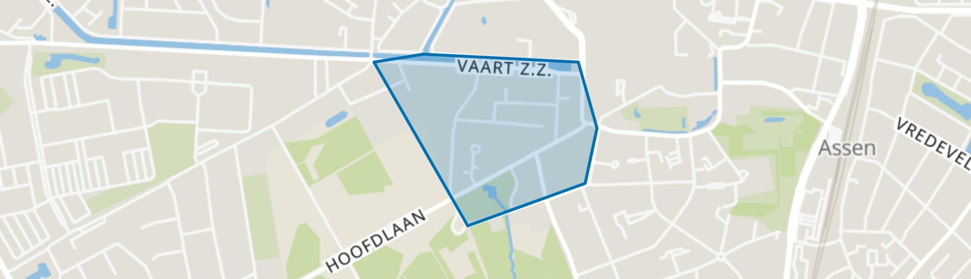 De Hertenkamp, Assen map