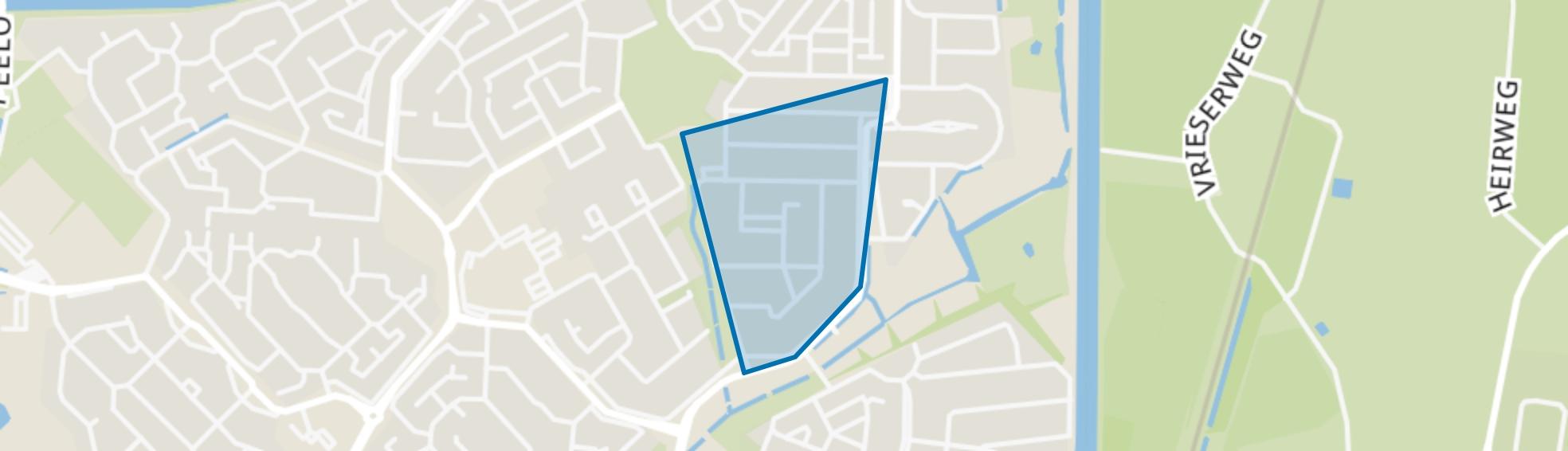 De Hullen, Assen map