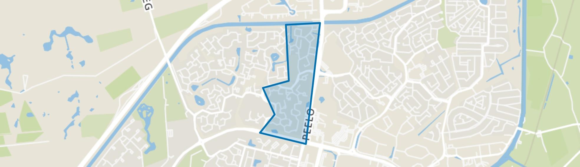 De Kampen/De Essen, Assen map