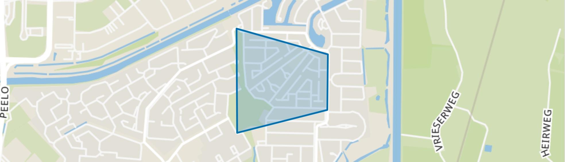 De Kleuven, Assen map
