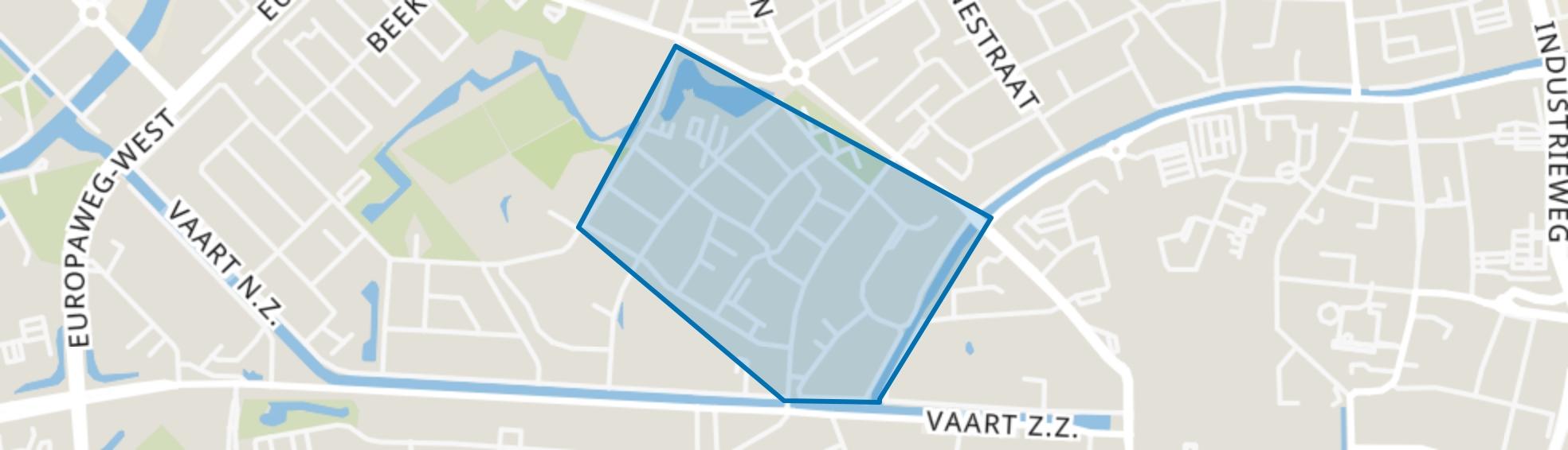 De Lariks Oost, Assen map