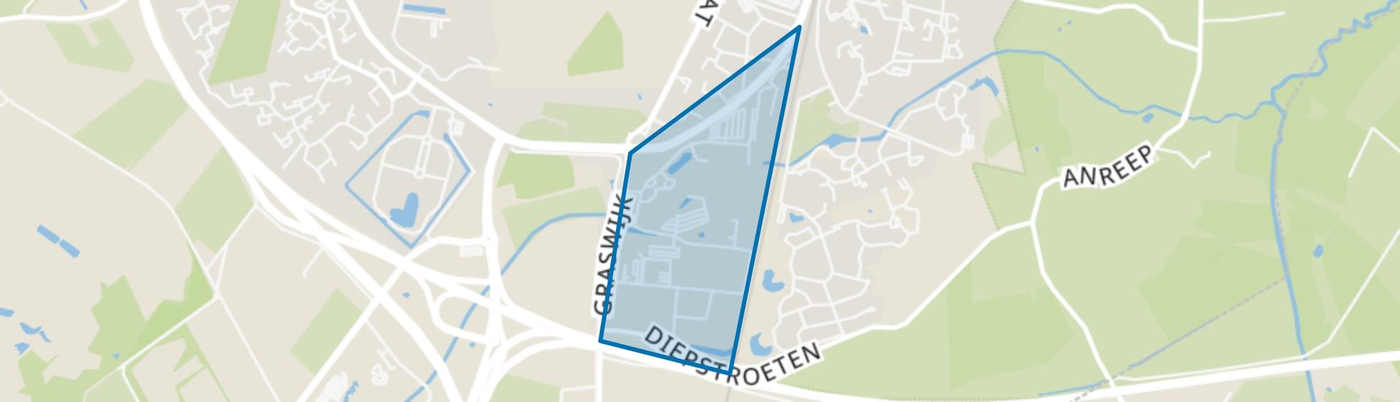 De Maten, Assen map