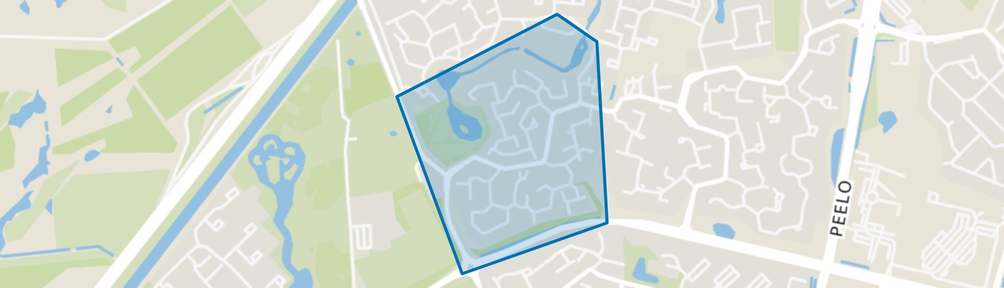 De Venen/De Wallen, Assen map