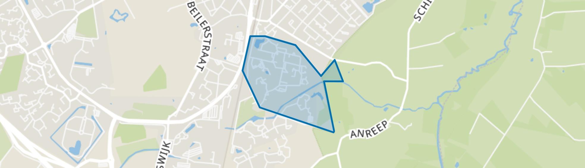 GGZ-terrein, Assen map