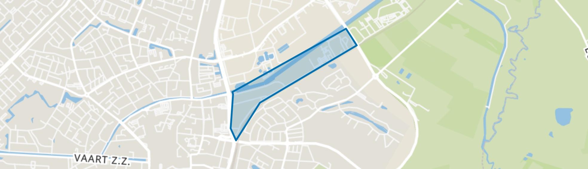 Havenkanaal Zuidzijde, Assen map