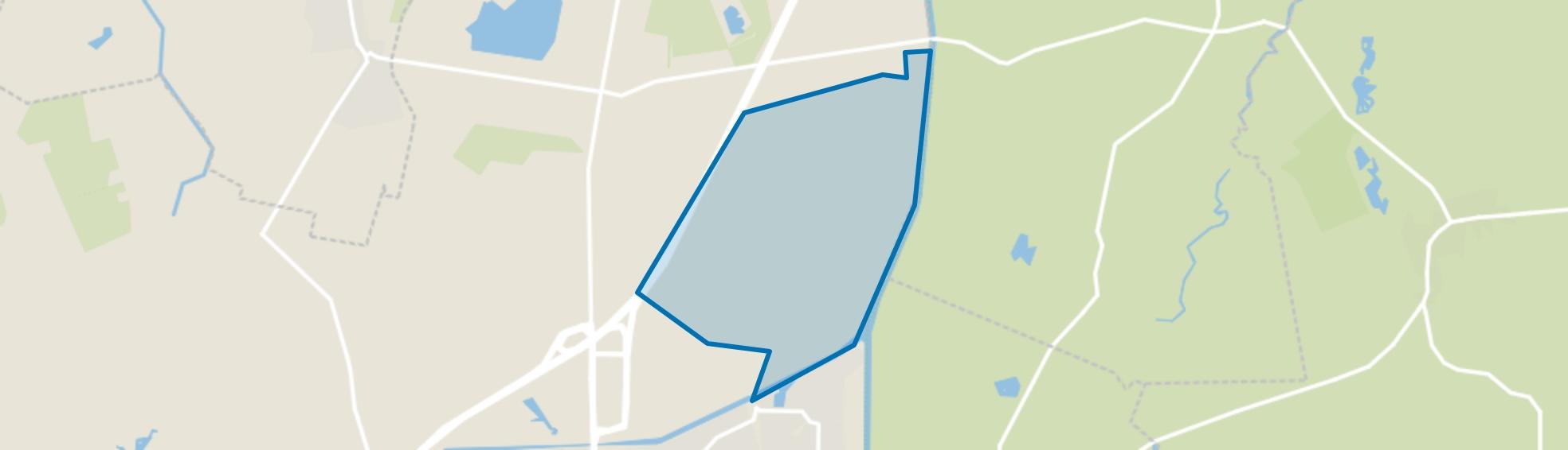 Het grote Veld, Assen map