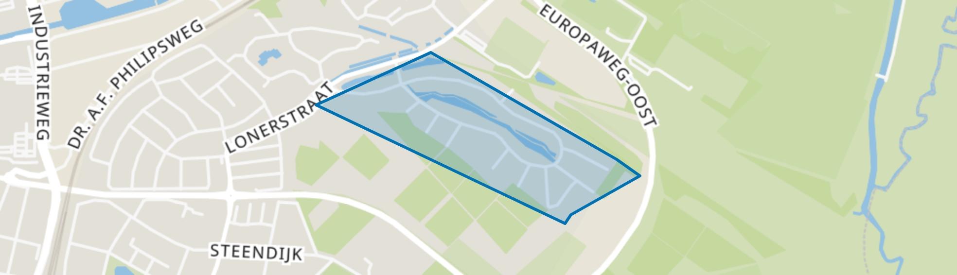Houtlaan, Assen map