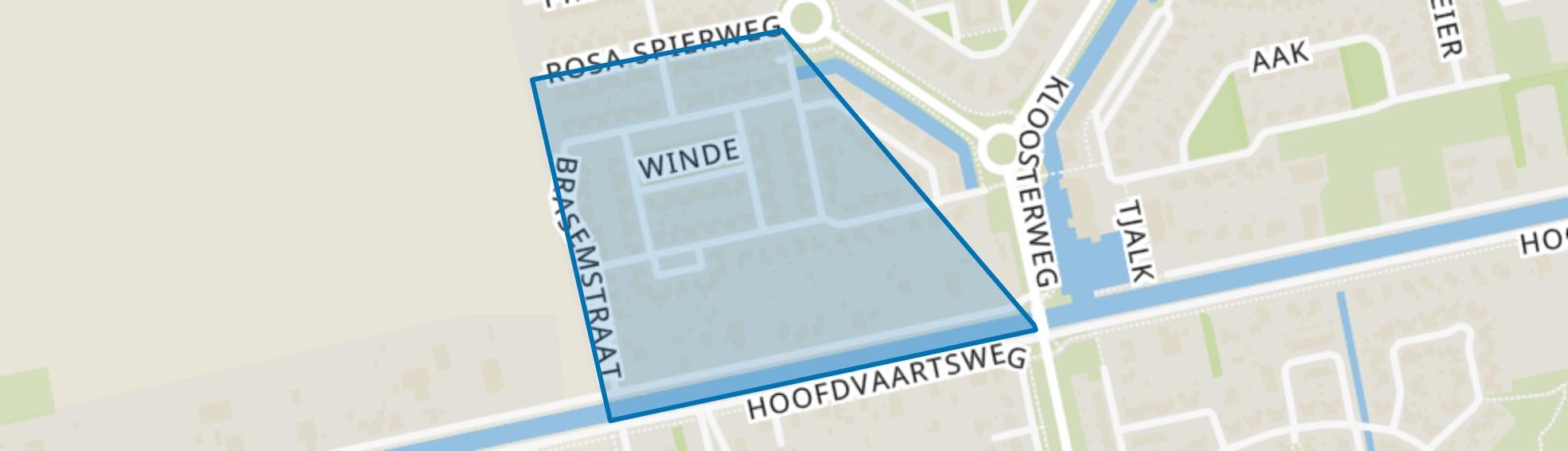 Kloosterkade, Assen map