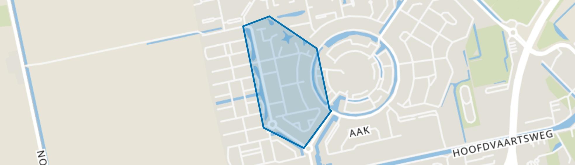 Kloostertuinen, Assen map
