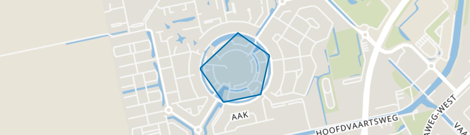 Kloosterveste, Assen map