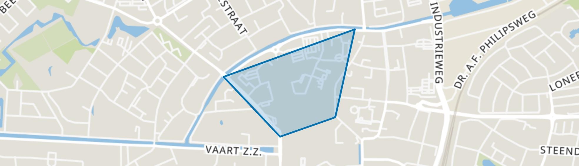 Koopmanskwartier, Assen map