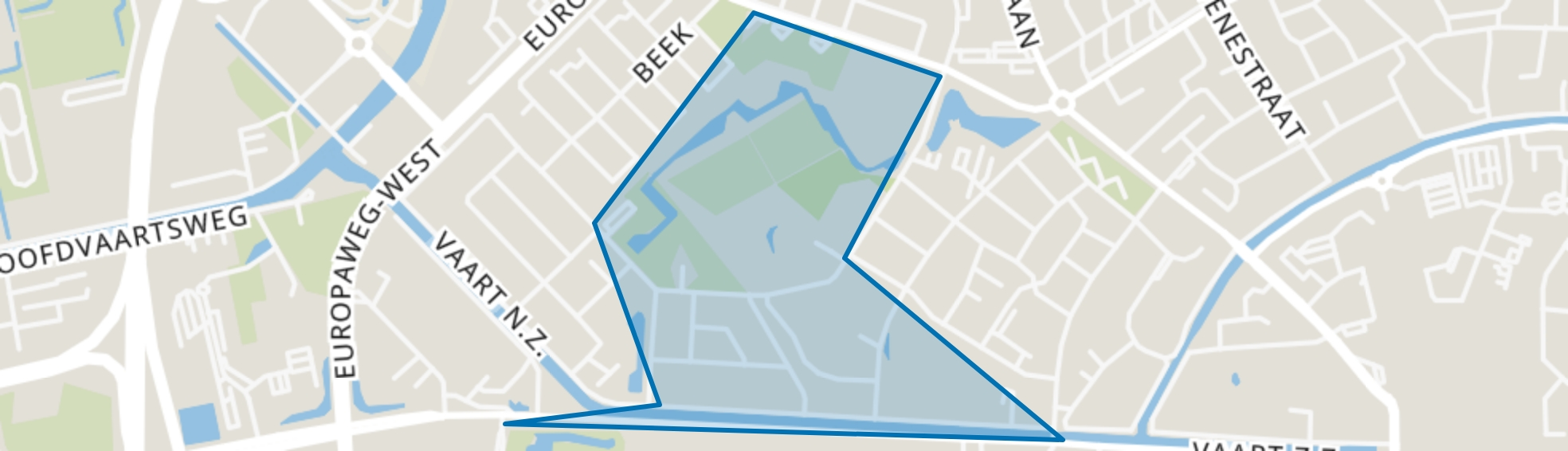 Landgoed Lariks, Assen map