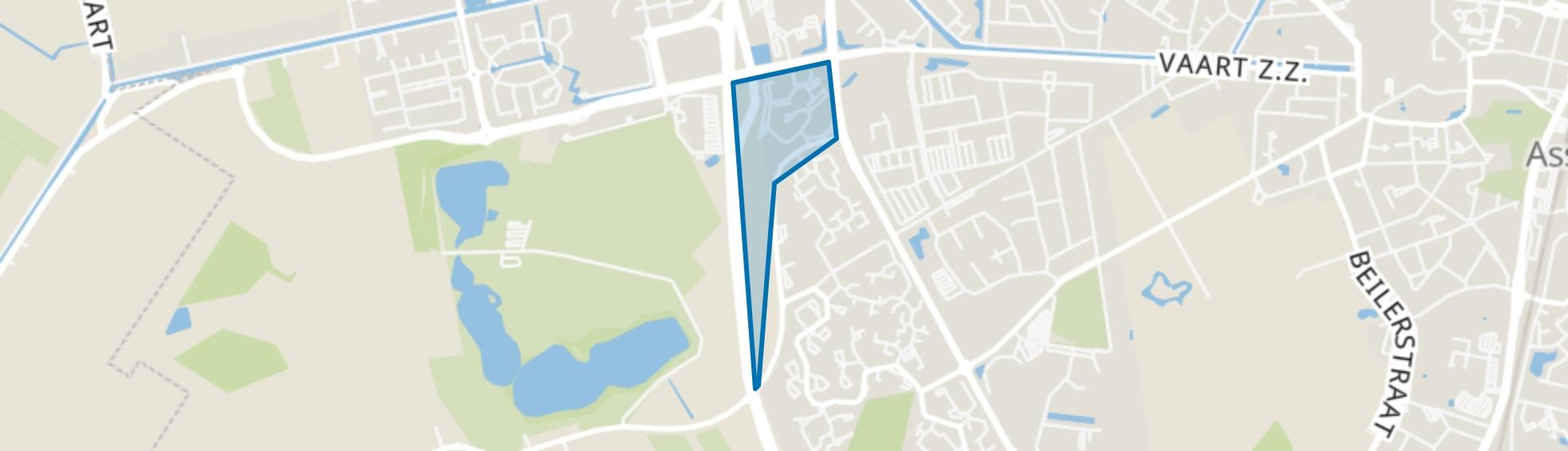 Lauwers, Assen map